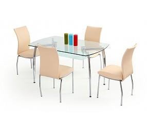 ALBERT - стол стеклянный