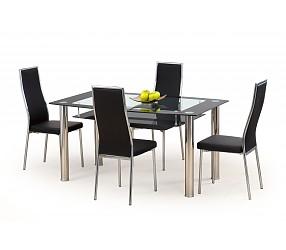 CRISTAL - стол стеклянный