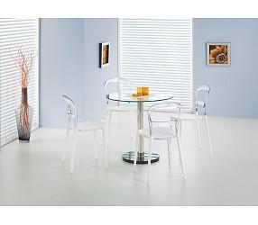 CYRYL - стол стеклянный