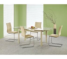 KAYDEN - стол стеклянный