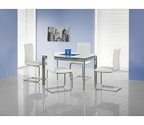 LAMBERT extra white - стол стеклянный