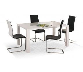 RONALD 80/120 - стол с лаковым покрытием раскладной