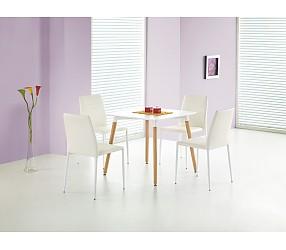 SOCRATES square - стол с лаковым покрытием