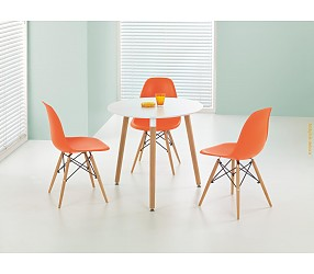 SOCRATES round - стол с лаковым покрытием