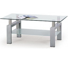 DIANA silver - стол журнальный