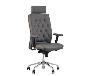 CHESTER R steel HR chrome - кресло для руководителя