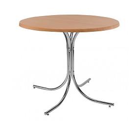 ROZANA alu/chrome - стол деревянный