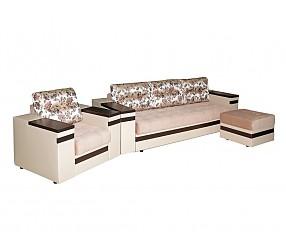 БОСТОН - диван прямой раскладной и кресло нераскладное