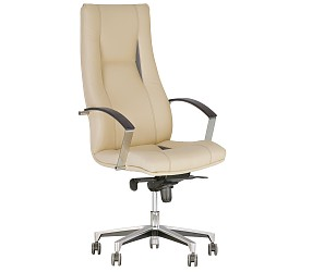 KING steel chrome - кресло для руководителя