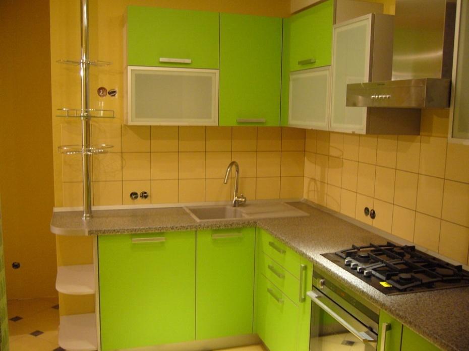 Как сделать угловую кухню из прямой 173