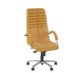 GALAXY steel chrome - кресло для руководителя