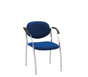 SPLIT chrome - стул для посетителей