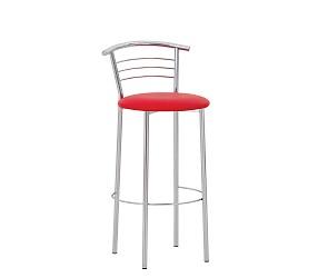 MARCO HOKER chrome - стул для барных стоек